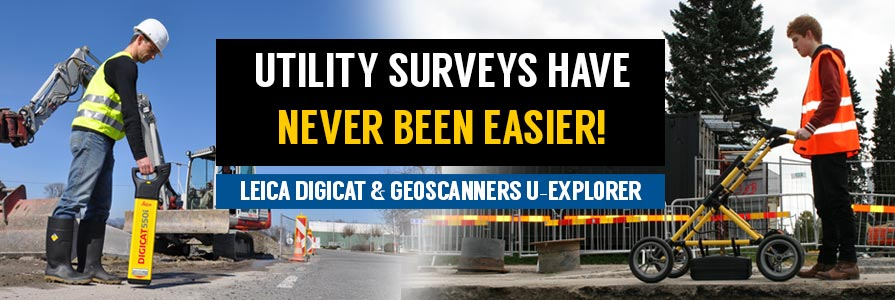 Special offer for Digicat Leica 500i and Geoscanners U-Explorer!